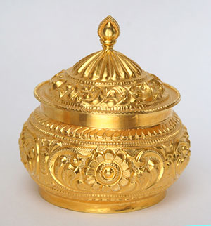 Fancy Gold Kumkum Barni