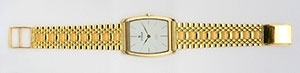 Funky Gold Watch