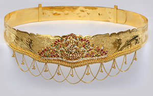 Exquisite Gold Vadiyanam