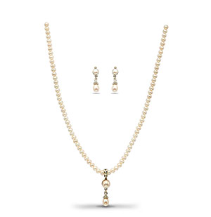 Exciting Pearls Necklace Set