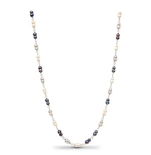 Multi Colour Pearls Necklace