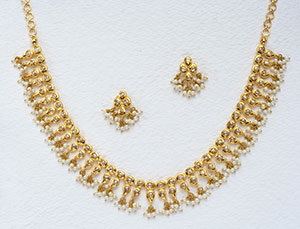 Aristocratic Uncut Diamond Set