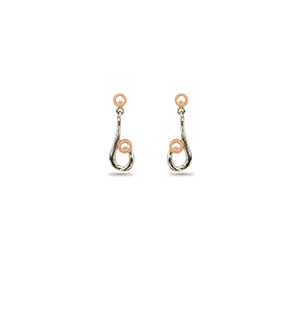 Pink Stylish Earring