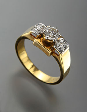 Elegant Diamond Ring