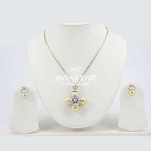 Diamond Locket Set