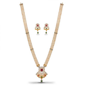 Casual Rani Haar Pearls Necklace Set