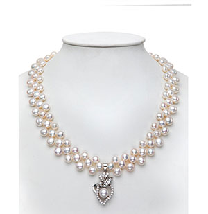 Exceptional Pearls Necklace Set